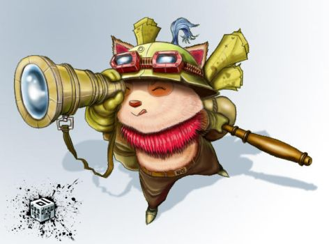 Teemo-league of legends by ipnoze