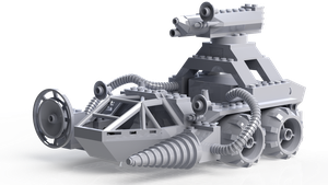 Chrome Crusher Front Left by Tau-Crisis