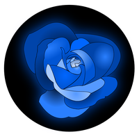 Blue Rose by Metatality