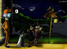 Concour halloween Forum by thebigkirby