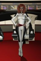 Mirror Universe Jumpsuit textures for V4 Bodysuit by ShadowhawkOne