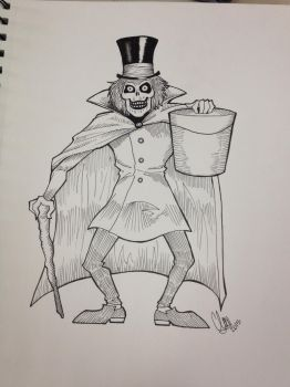 Hatbox Ghost by PsyquedelicSpit