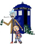 Rick And Morty Dr.Who Style by FluffyPocket