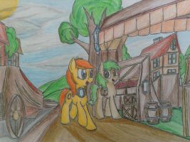 MLP: Sarina Ring's memories of her past by Paladin360