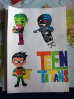 TEEN TITANS by Nina2258