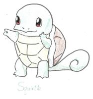 Squirtle Pokemon by Catgirl1428