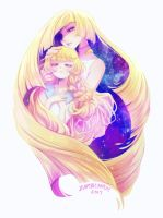 lusamine and lusamine jr by zambicandy