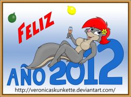 Happy new year by Veronica-Skunkette
