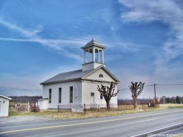 Hawkinstown UMC by jim88bro