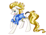 Golden Hearted by Downpourpony
