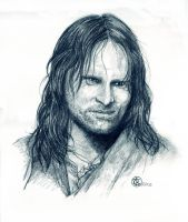 Viggo Mortensen by ktalbot