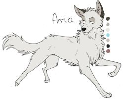Aria quick ref sheet by AriaDog
