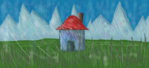 A house in the middle of nowhere (remake) by JanAnims