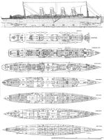 Deck Plan of Lusitania by Scottvisnjic