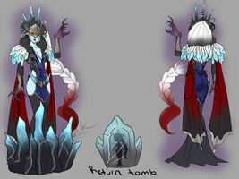 Black Ice Lissandra by Shadow-People