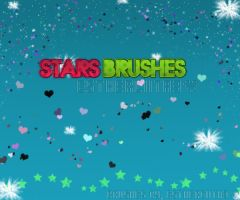 Brushes stars by estherciita3