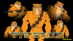 Tye-Bacca Wallpaper by BennytheBeast