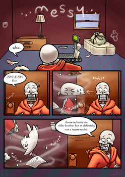 .: SwapOut : UT Comic [2-6] :. by ZKCats111