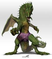 zFIN FANG FOOM (with shorts) by dopepope