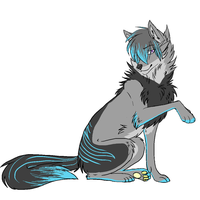 Wolf adopt 2 - taken by MagisterAdopts