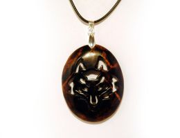 Wolf amulet by JOVictory