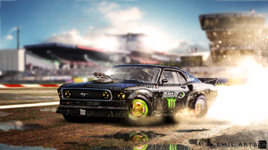 Ford Mustang 1969 King of Europe by Emil-Arts