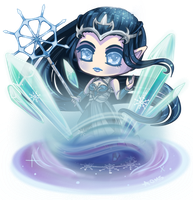 Isolde Goddess of Ice and Snow by Oh-My-Stars