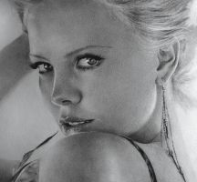 Charlize Theron by mehmetcaglar