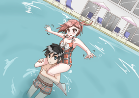 Rinna Can't Swim by Elli-Tan
