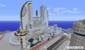 Minecraft Epic Megabuilding by sourcemaker