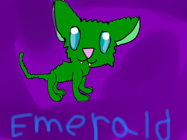 Emerald by Me-MowTheCat