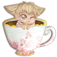 TAO IN A TEACUP by starryraindrops