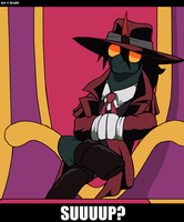 Alucard in Equestria 02 by Droll3