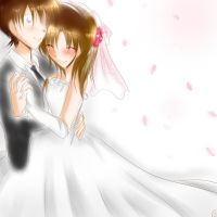 Request- ShinRan wedding by HimitsuNotebook