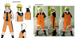 Naruto Summer Cosplay Finished by TwinEnigma