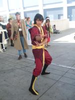 A really good Zuko cosplay by ChrisXLee