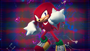 Knuckles the Eckidna[56] by Light-Rock