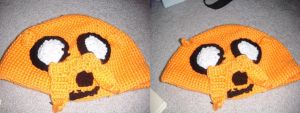 Jake the Dog Hat by Ambrosial-Wolf