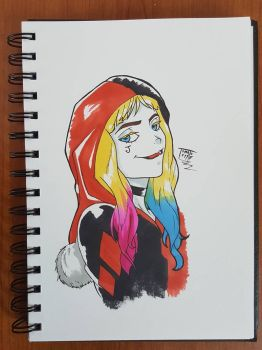 Day 178 Harley quinn by TomatoStyles