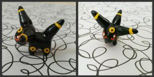 Umbreon Figurine- Pokemon by love-dolly