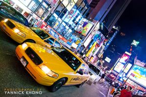 New York Taxis III by confucius-zero