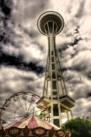 Space Needle by YourRequiem