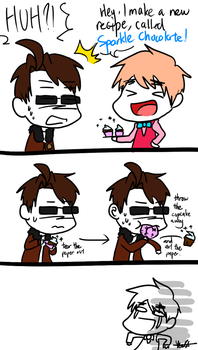 How to Eat 2P! England's Cake by NSYee36