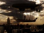 Flying Pirate Ship by Marcelo-RocK