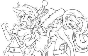 sinful christmas (Unpainted) by mauroz