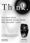 Think. by wizfrikiman