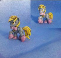 MLP: FiM Custom Blindbag: Derpy + boots and scarf! by vulpinedesigns