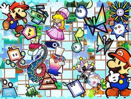 Paper Mario Madness by Artymesia
