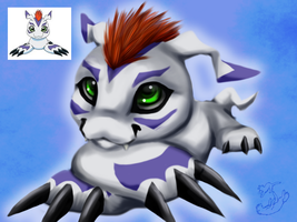 Gomamon by Roukara
