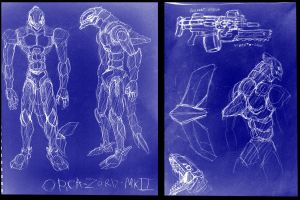 ORCA-ZORD Mk.II BLUEPRINT by KILLERWHALE-ARMY